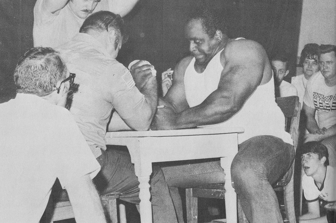 World Armwrestling Federation (WAF) - THE ARMWRESTLING ARCHIVES